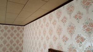 Behangpapier met bloemen