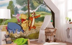 Kinderkamer fotobehang Winnie the Pooh