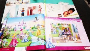 Stalenboek kinderkamer fotobehang