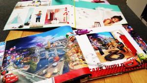 Stalenboek kinderkamer fotobehang jongens