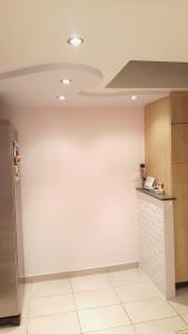 Decoratief plafond keuken