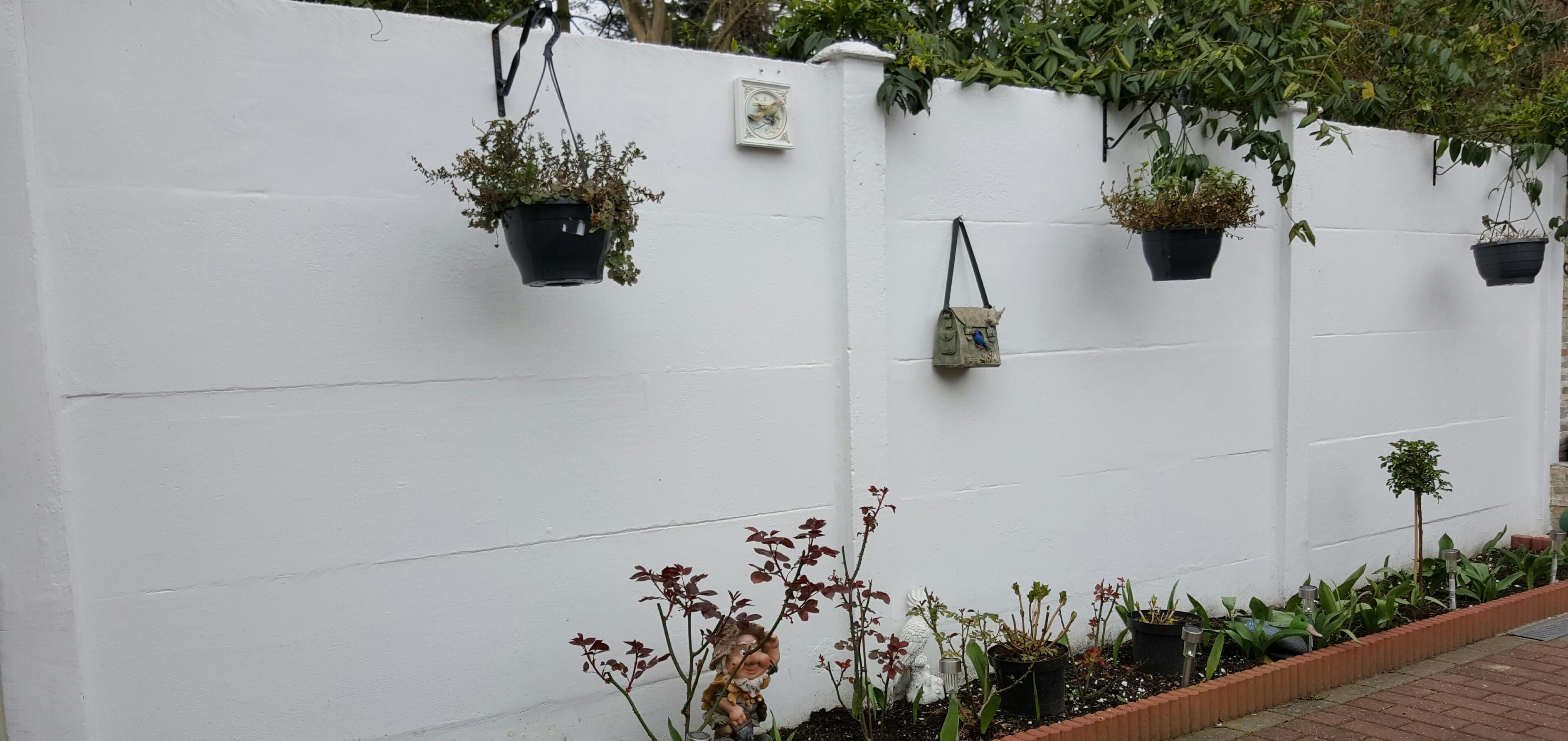 Schilderwerken - Deco leisteen muur ...