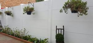 Schilderen van betonplaten